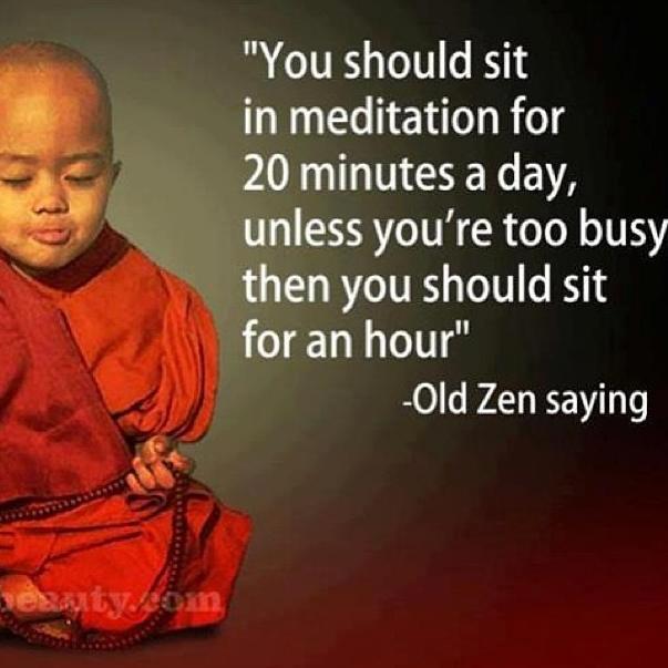 meditate 20 minutes